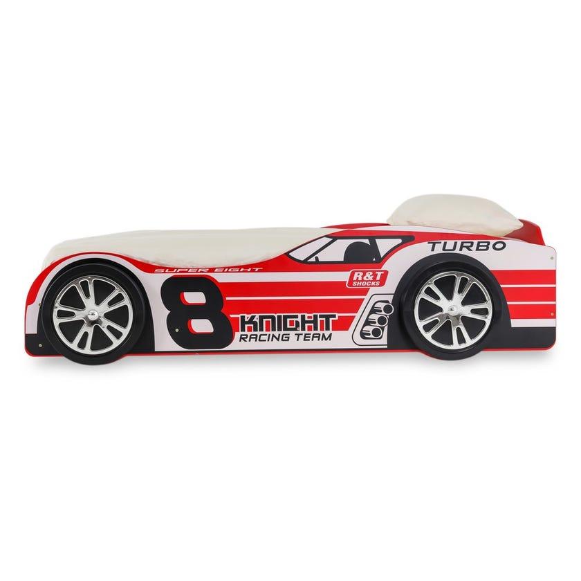 Super 8 Car Bed, Red – 90X200 cms