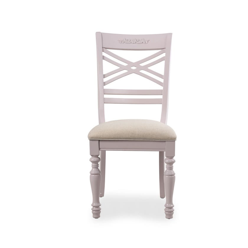 Jessica Fabric Upholstered Chair - Lilac