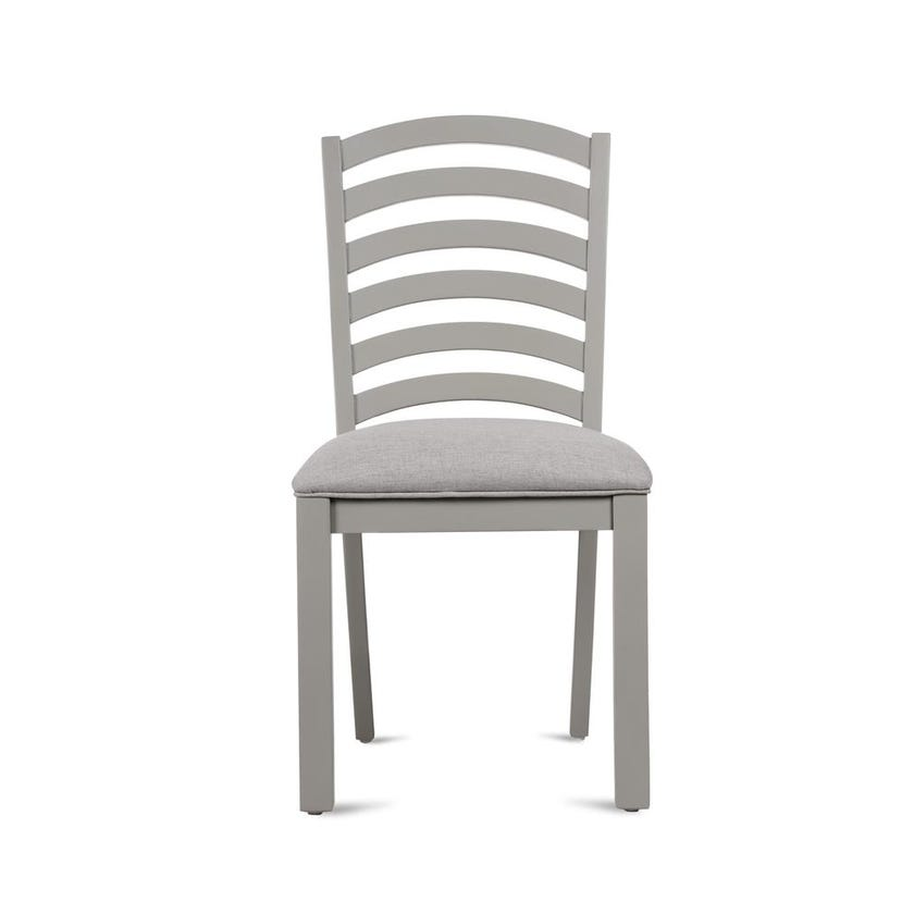 Brandon Fabric Upholstered Study Chair - Grey
