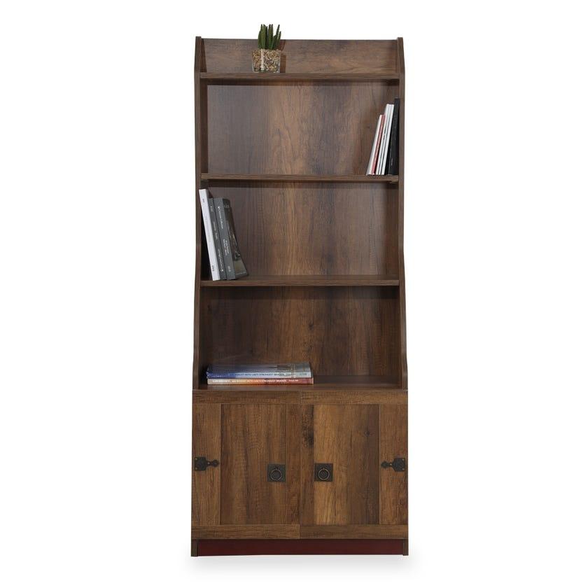 Pirates 2-drawer Bookcase - Walnut