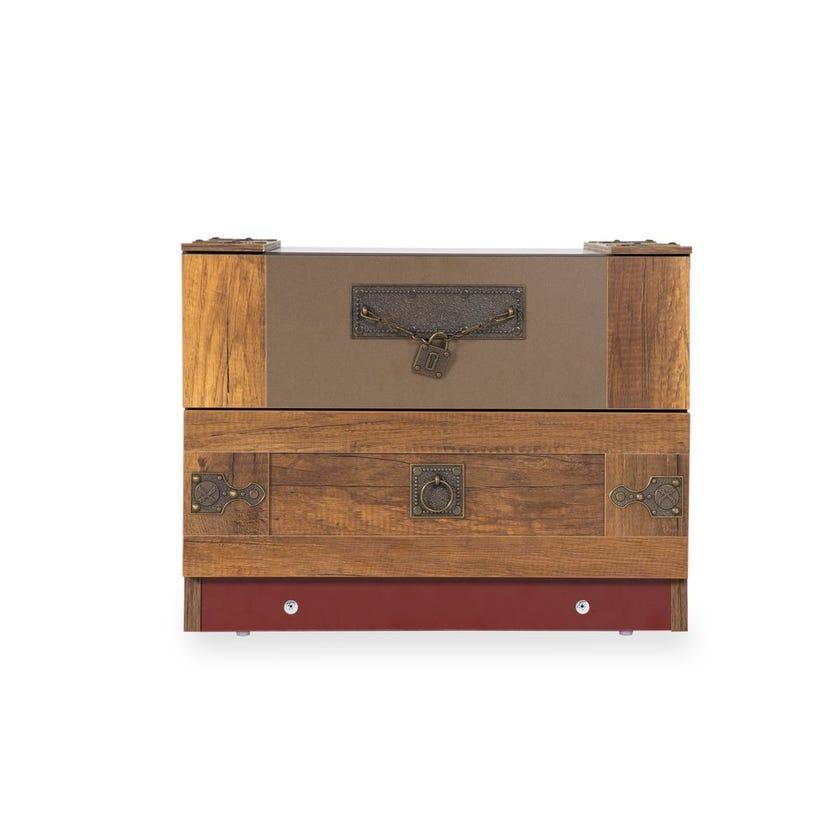 Pirates 2-drawer Nightstand