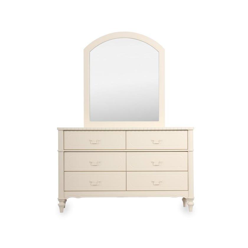 Bellamy 6-Drawer Dresser with Mirror