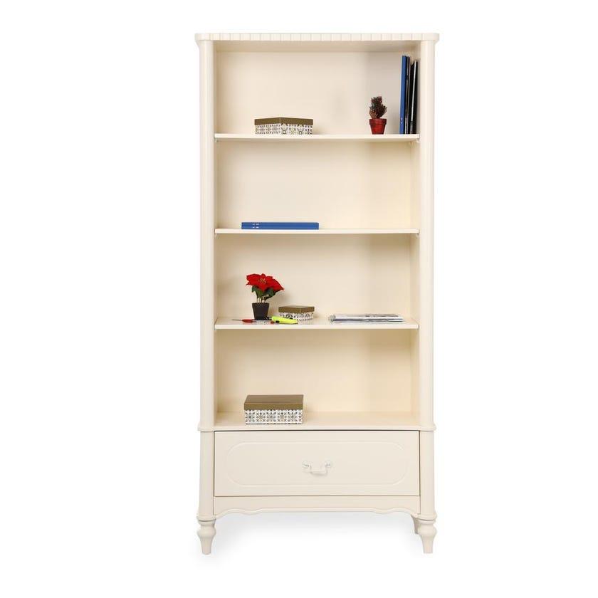 Bellamy 4-Shelf Bookcase with 1-Drawer