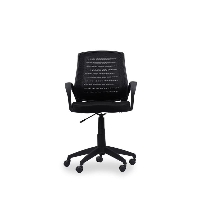 Davis Back Chair, Black