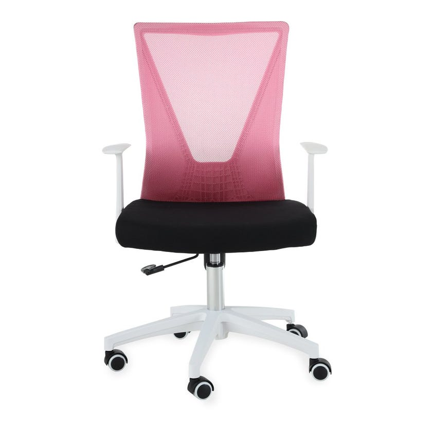 Stella Multicolour Chair - Pink and Black