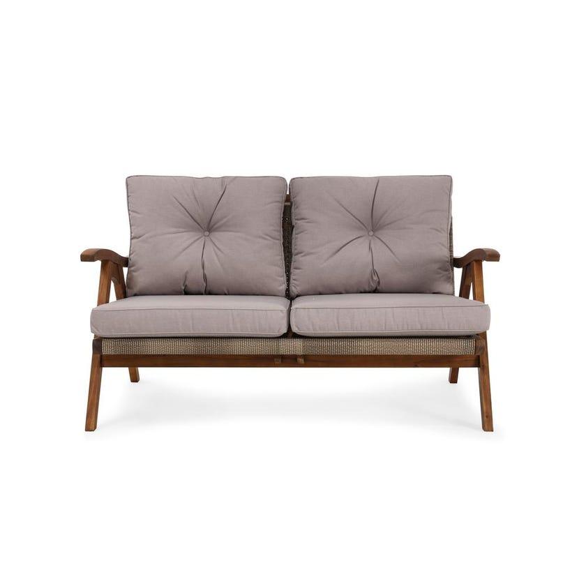 Pensacola 2-seater Outdoor Sofa, Natural