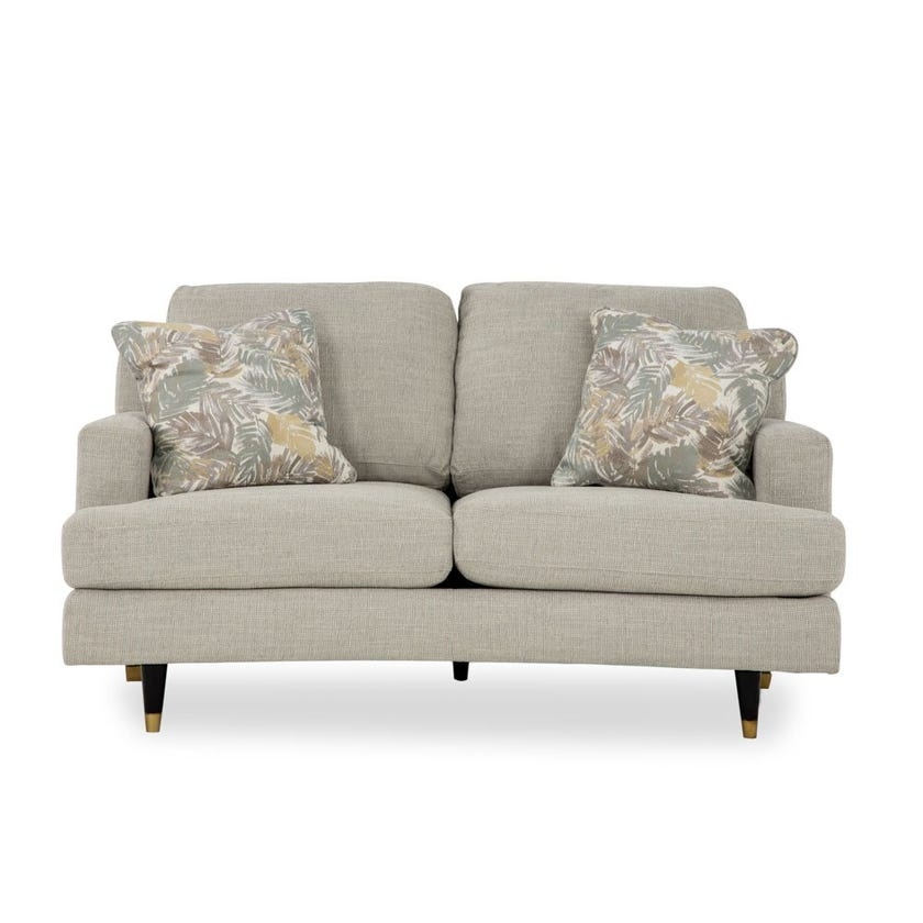 Bloom Fabric Upholstered 2-seater Sofa - Beige