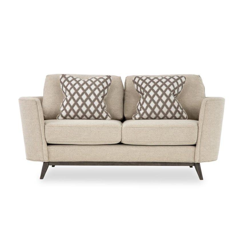 Flint Fabric Upholstered 2-seater Sofa - Beige
