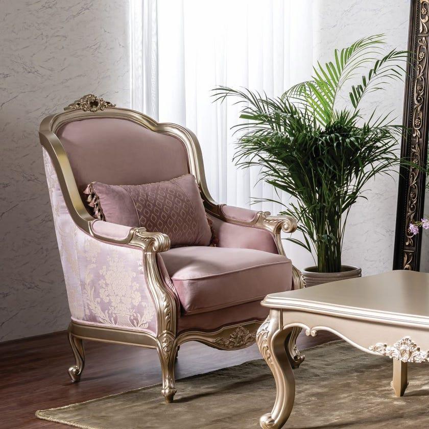 Hala Fabric Upholstered Armchair