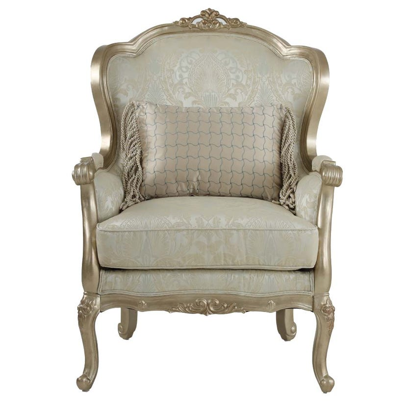 Tunis Fabric Upholstered Armchair