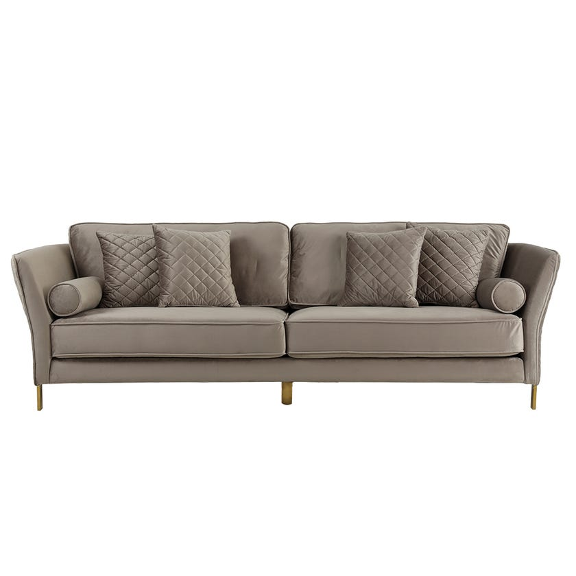 New Steve 3-seater Sofa, Brown