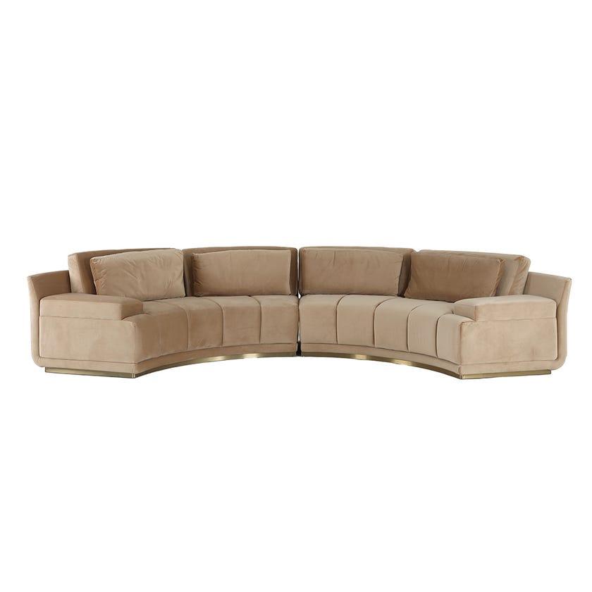 Suzanna 6-Seater Sectional Sofa
