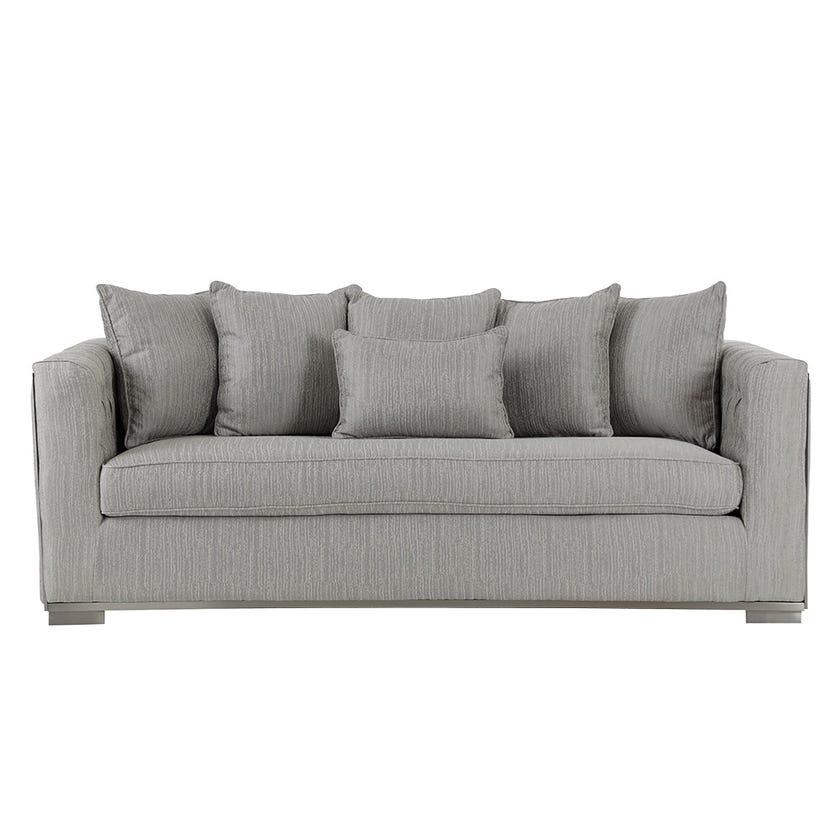Jackson 3-Seater Sofa, Grey
