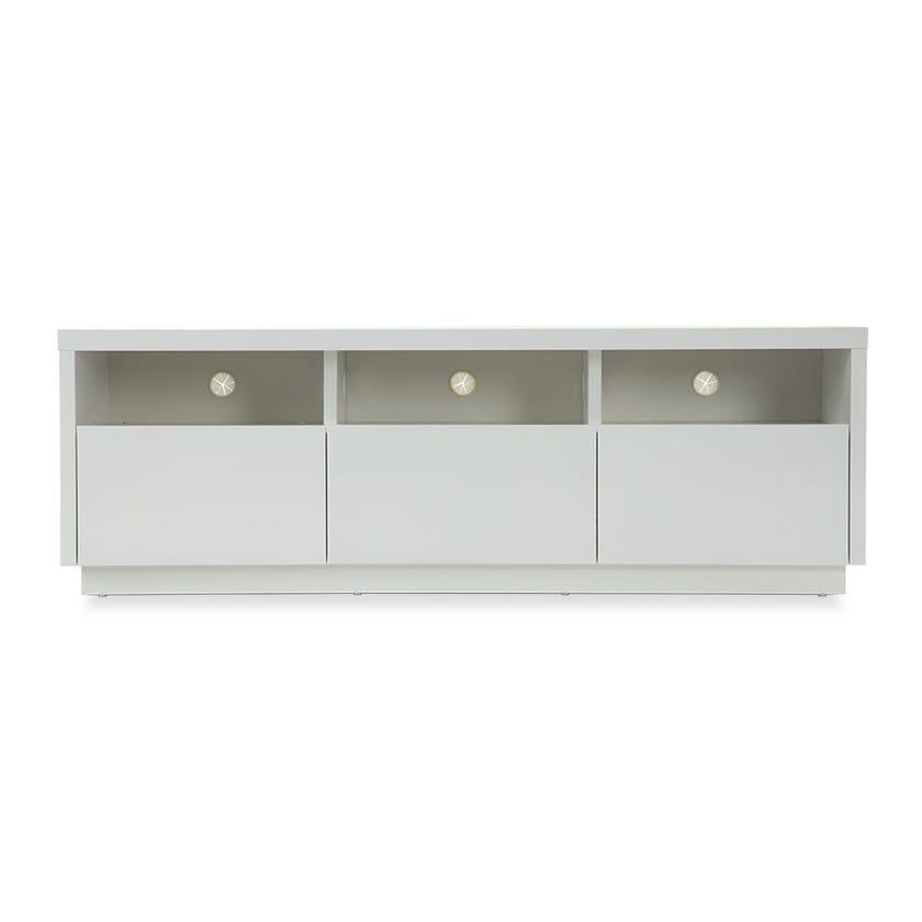 Venice Melamine TV Cabinet - White