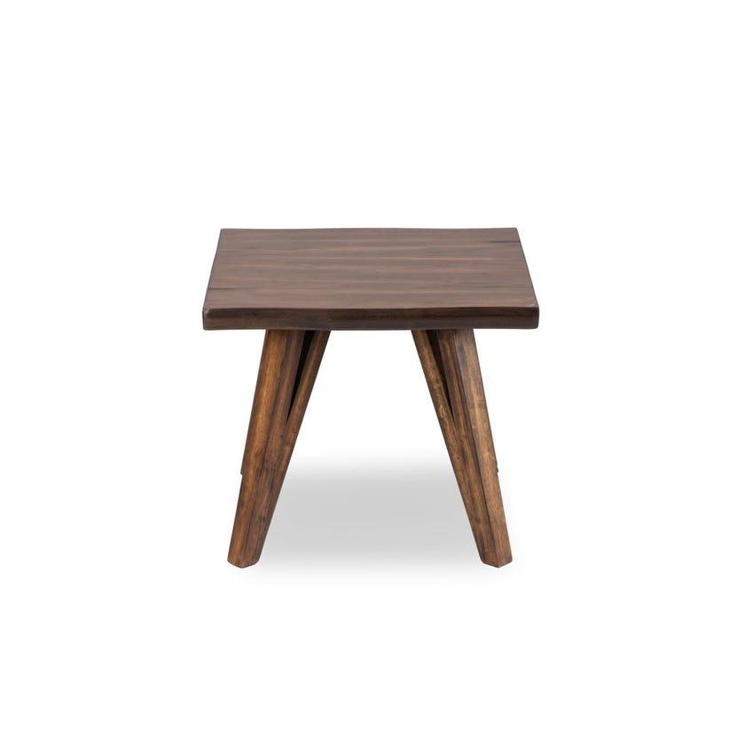Sunny Veneer End Table - Oak