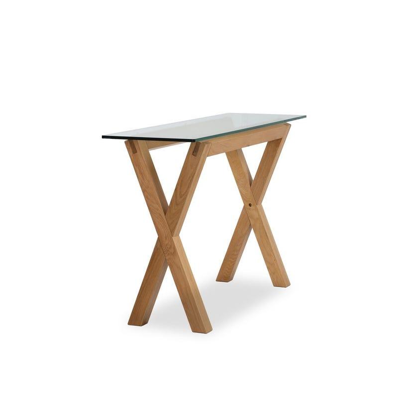Venice Glass Console Table