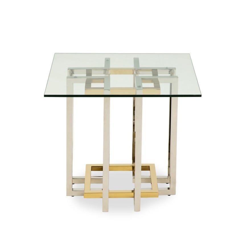 Ella Side Table - Silver