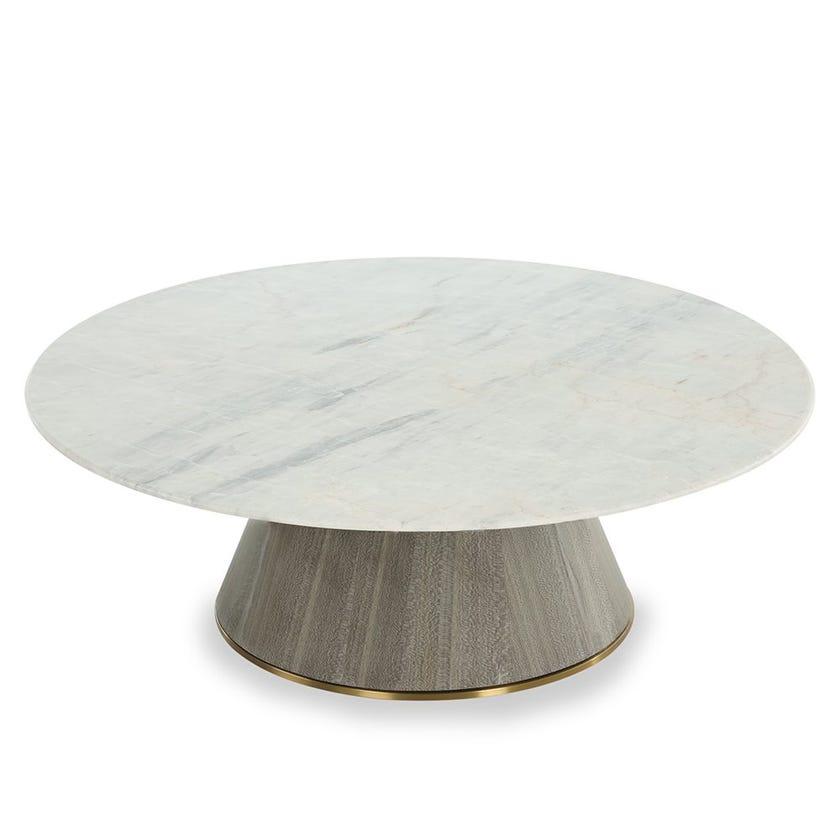 Alex Marble Coffee Table, Medium