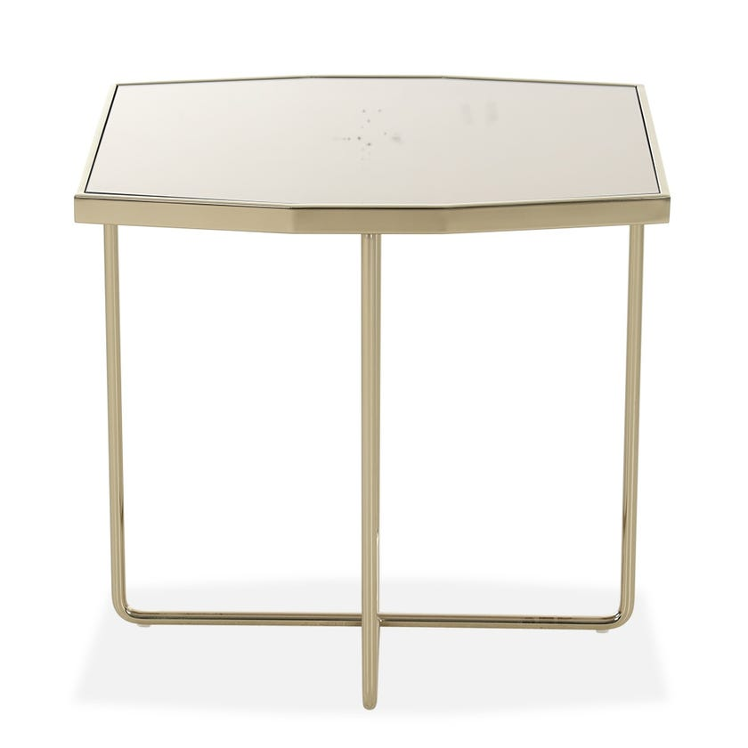 Kate End Table - Gold