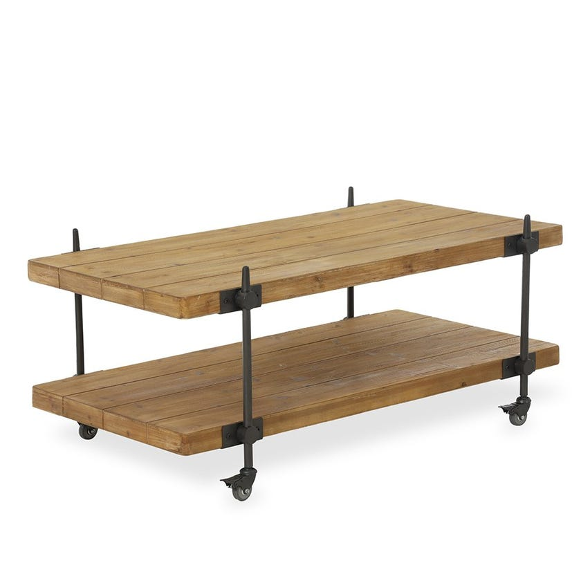 Dennis Wooden Coffee Table