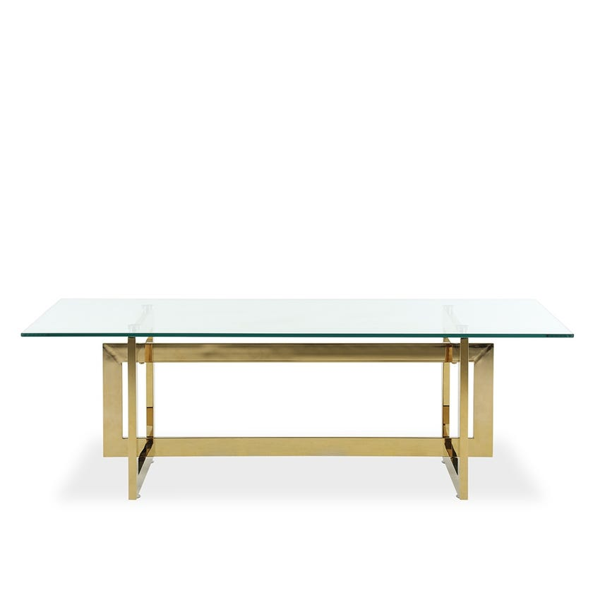Dazzling Coffee Table - Gold