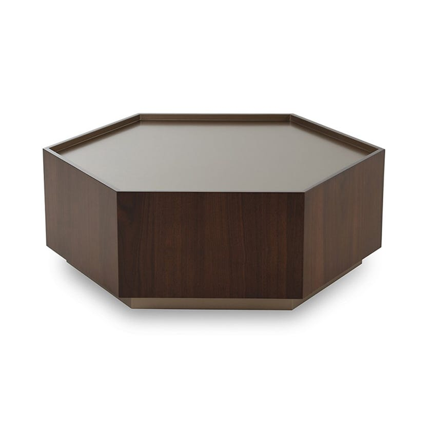 Domino Coffee Table Large, Brown
