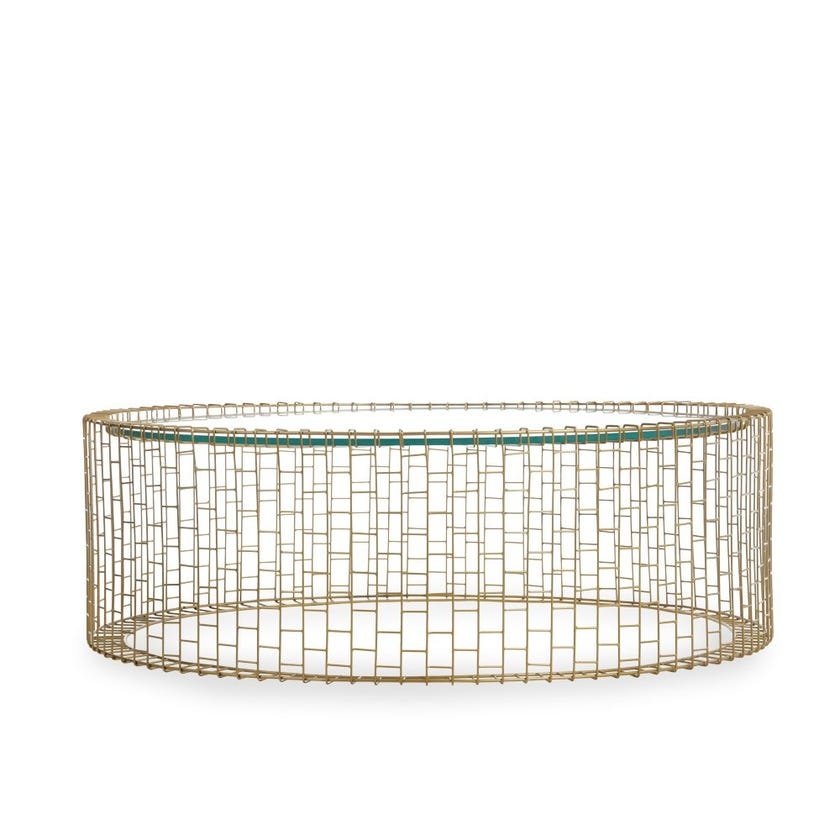 Andres Round Coffee Table