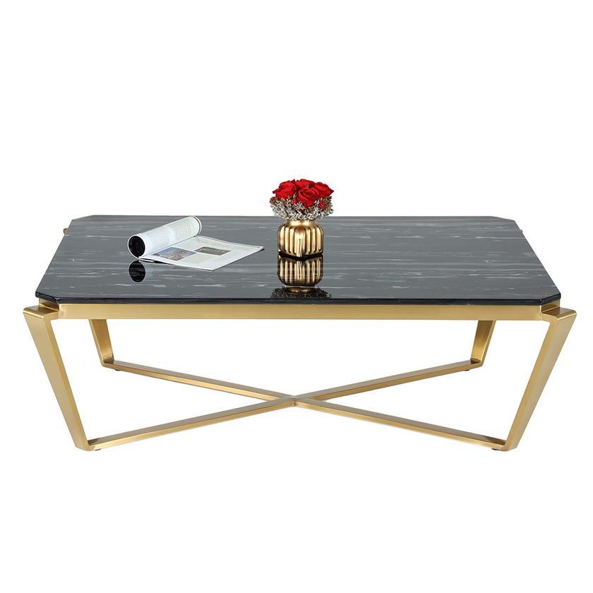 Babylon Coffee Table Black & Gold