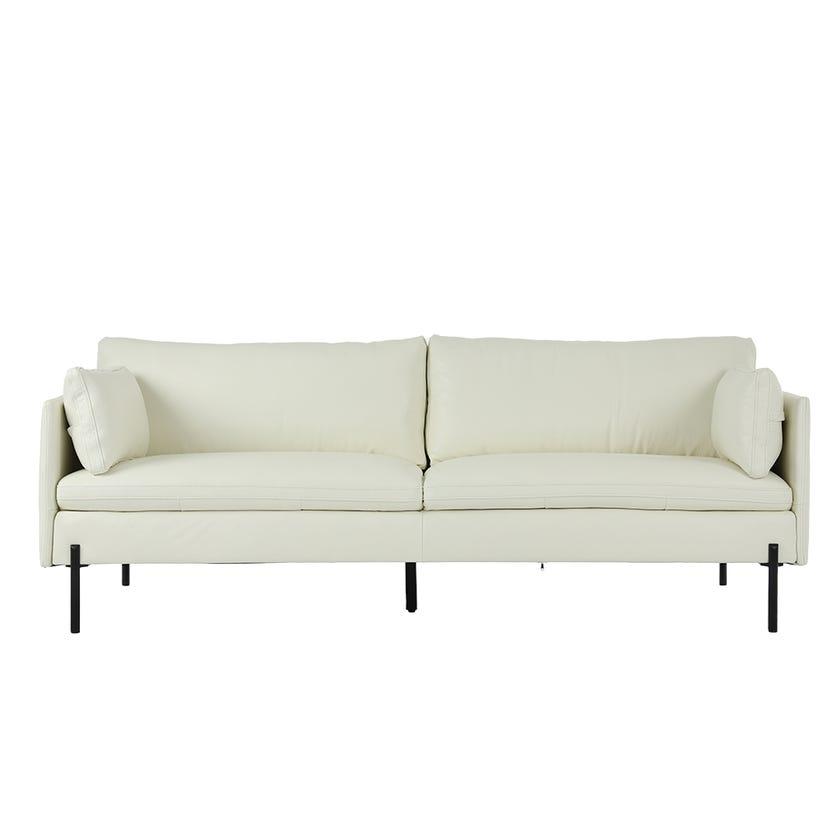 Irish 3-seater Sofa, White