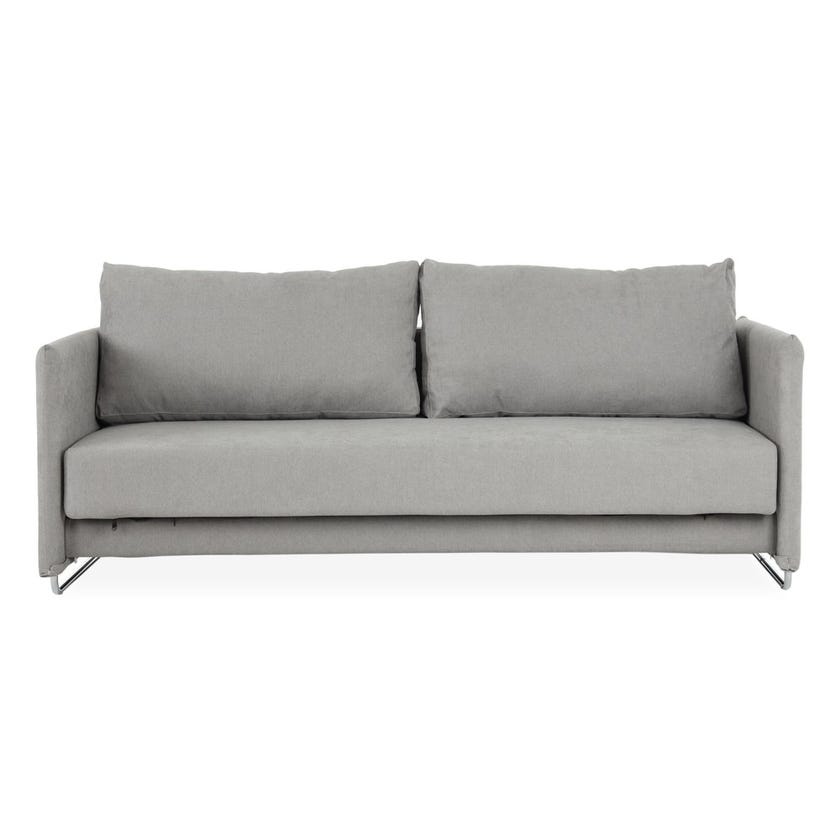 Steffi Fabric Upholstered Sofa Bed - Grey