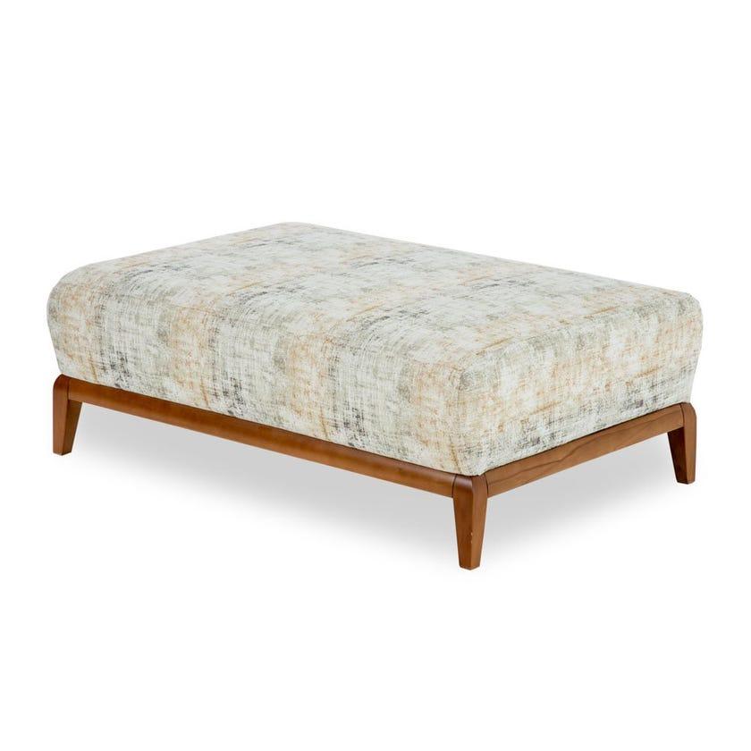 Natali Fabric Upholstered Ottoman