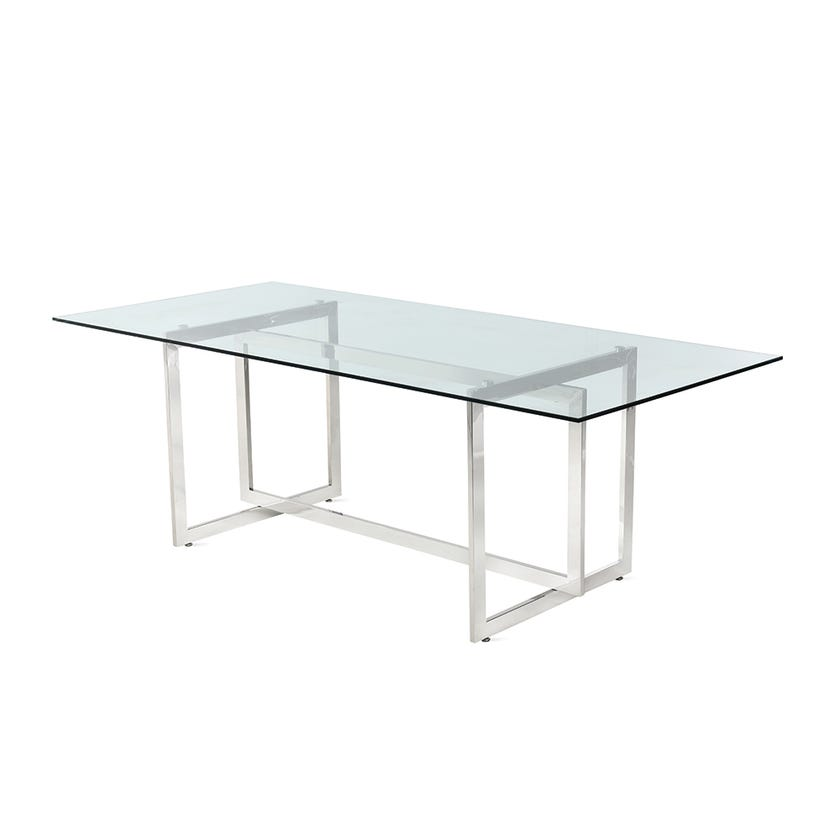 Dazzling Metal 6-seater Dining Table