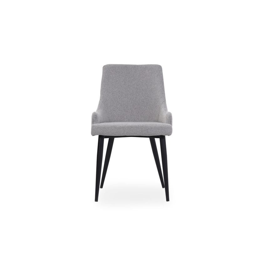 Josy Fabric Upholstered Metal Dining Chair