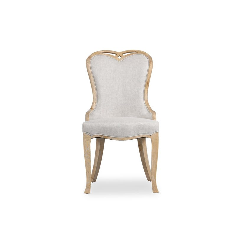 Chester Fabric Upholstered Wooden Dining Chair