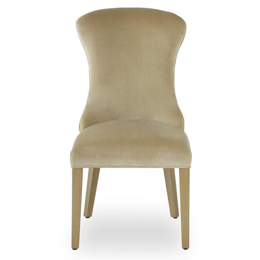 Whitney Velvet Upholstered Dining Chair - Gold