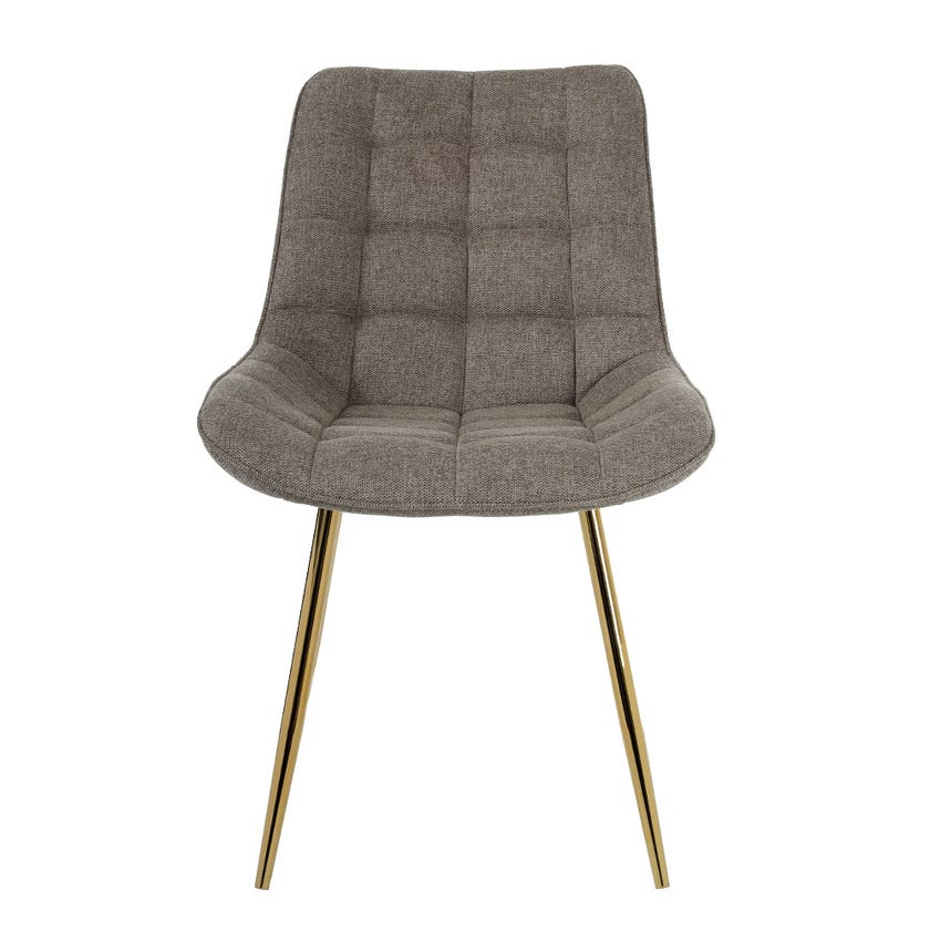 Jeni Upholstered Dining Chair - Brown