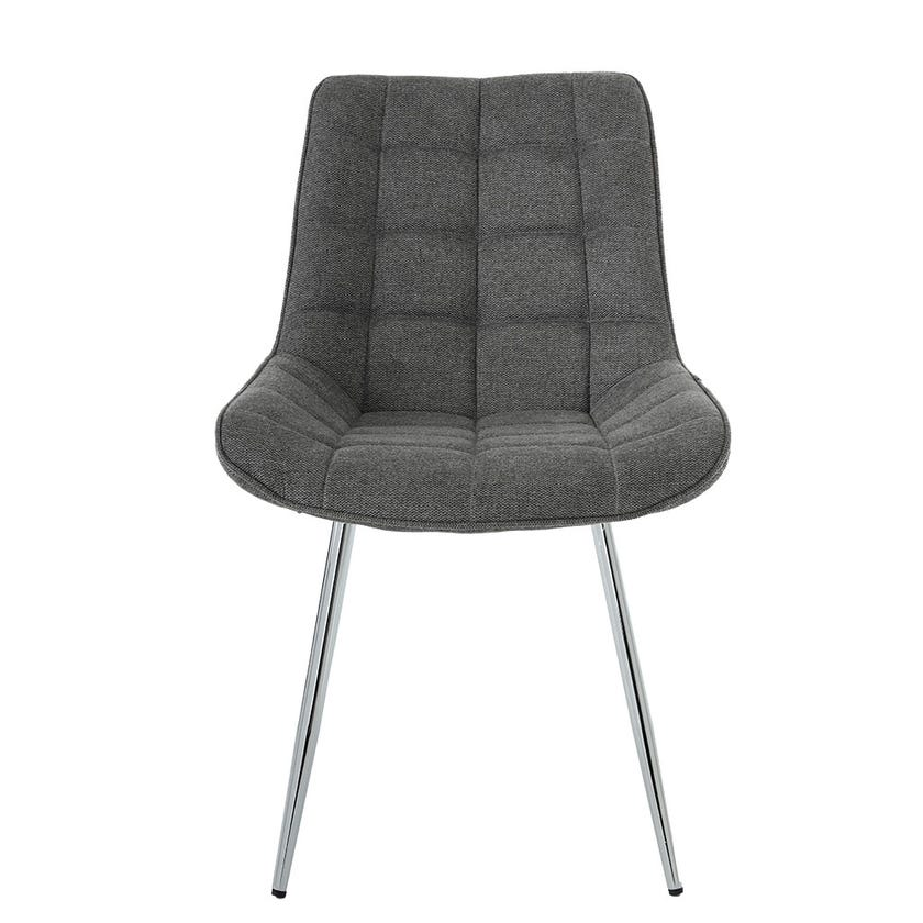 Jeni Upholstered Dining Chair - Grey