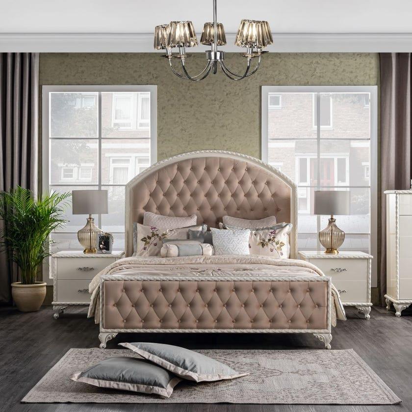 Carmen King Wooden Bed 180 x 200 cms