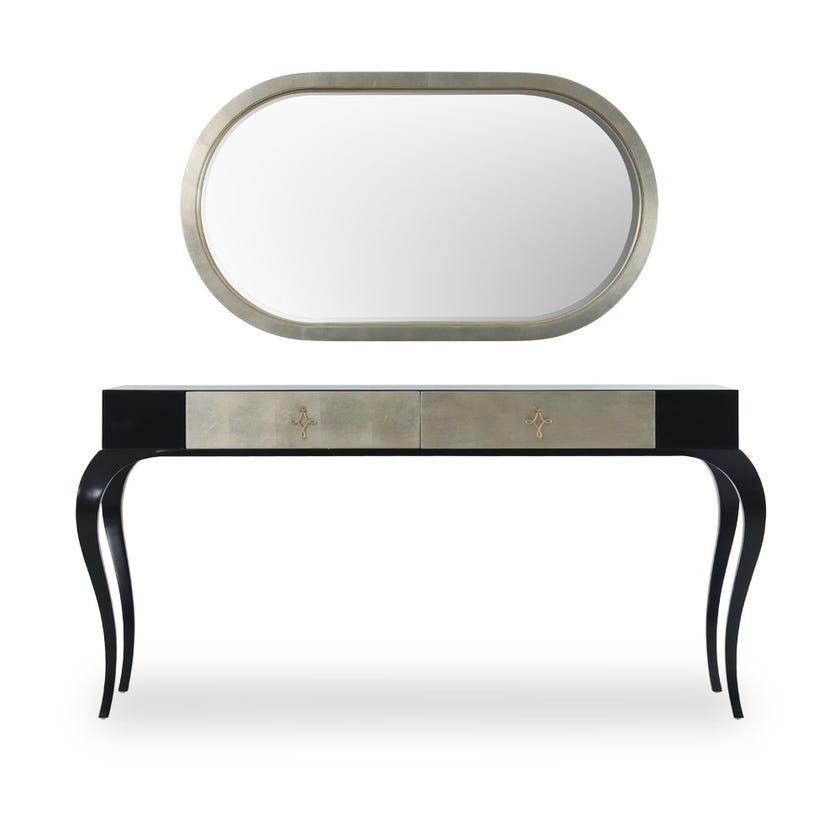 Donna 2-Drawer Dresser With Mirror