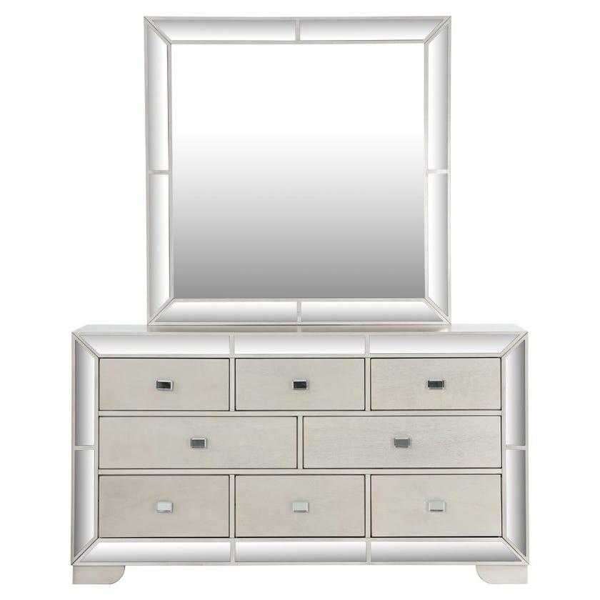 Juliette 8-Drawer Dresser With Mirror