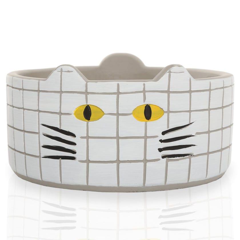Meow Planter Pot, White – Large