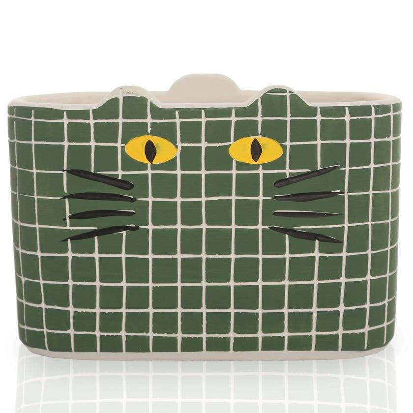 Katz Planter Pot, Green