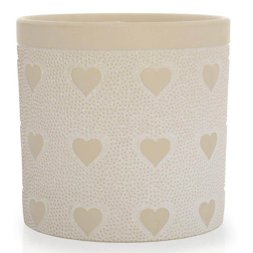 Amor Planter Vase, Clay – Large