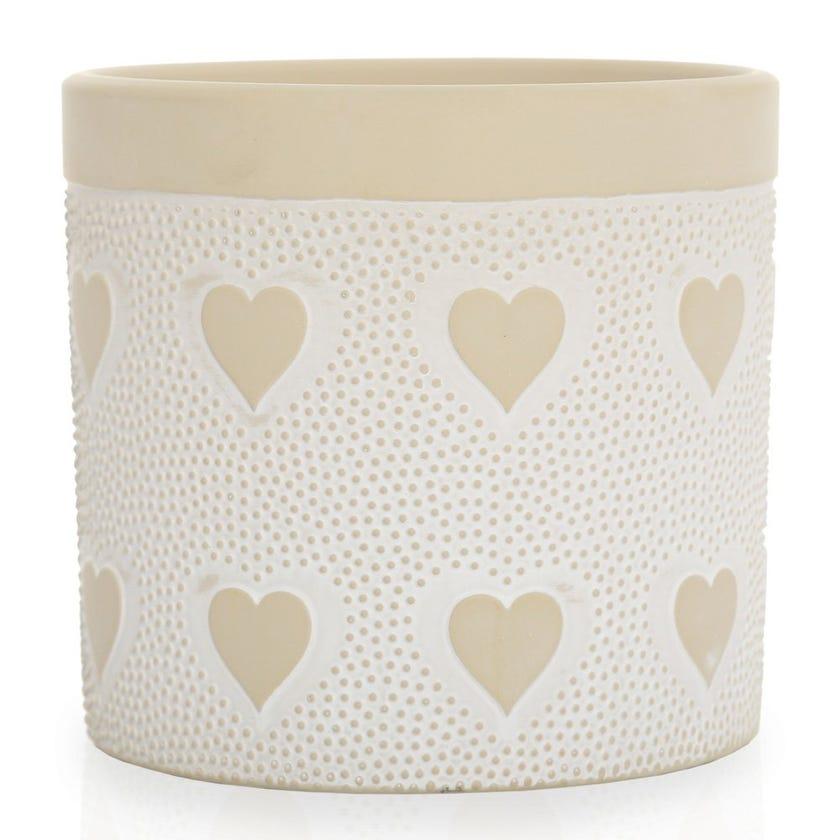 Amor Planter Vase, Clay – Medium