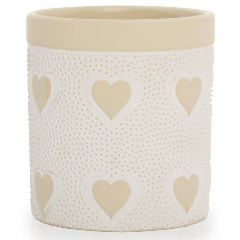 Amor Planter Vase, Clay – Small