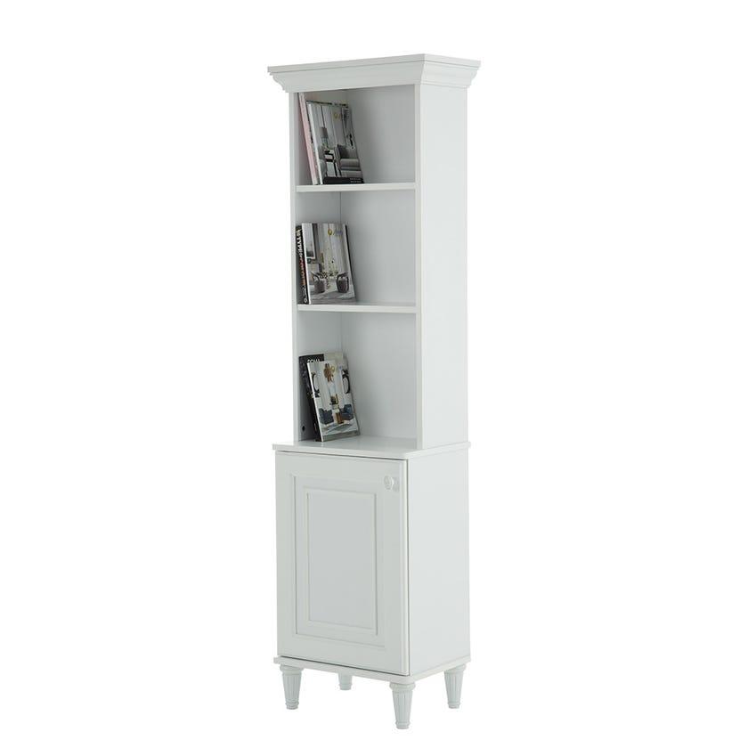 Gale Bookshelf, White