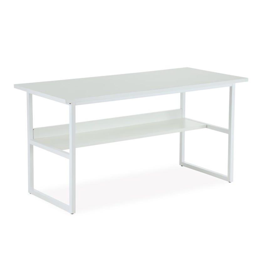Allen Metal Desk - White