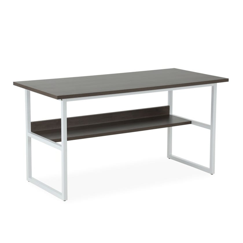Allen Metal Desk - Brown