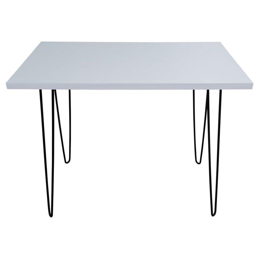Christy Metal Laptop Table - White