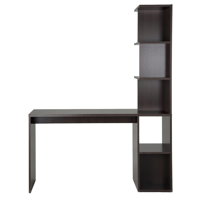 Lucia Wooden Study Desk with Hutch - Wenge